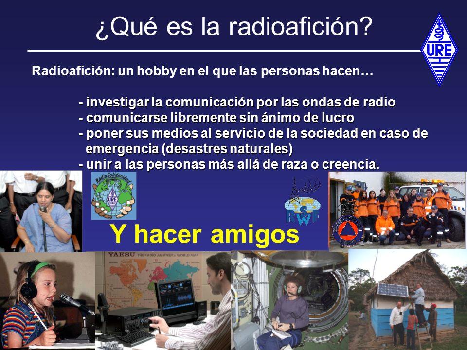 ¿Qué es la radioafición
