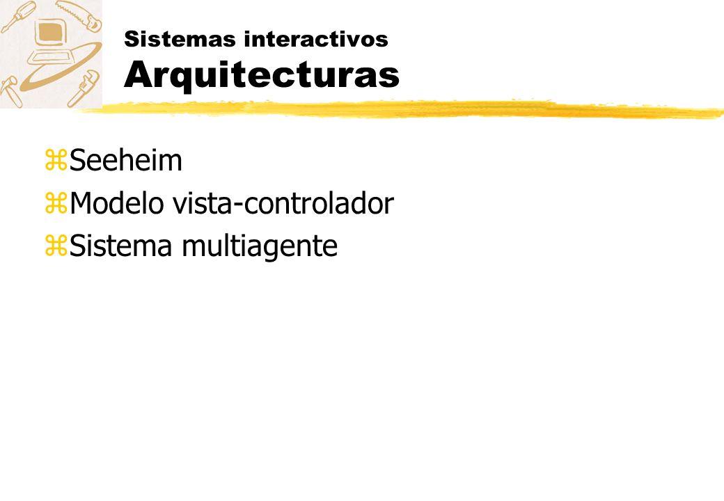 Sistemas interactivos Arquitecturas