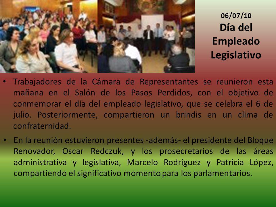 Día del Empleado Legislativo
