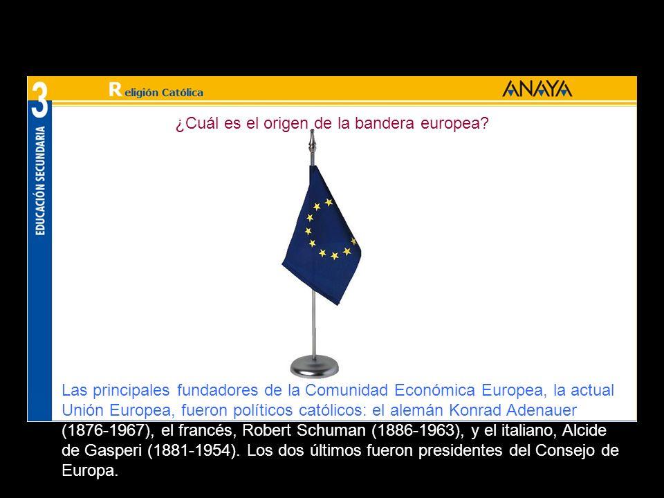 ¿Cuál es el origen de la bandera europea