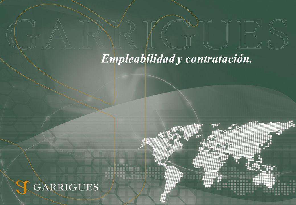 Empleabilidad y contratación.