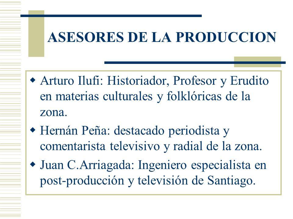 ASESORES DE LA PRODUCCION
