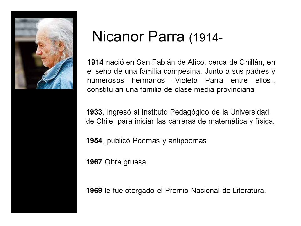 Nicanor Parra (1914-