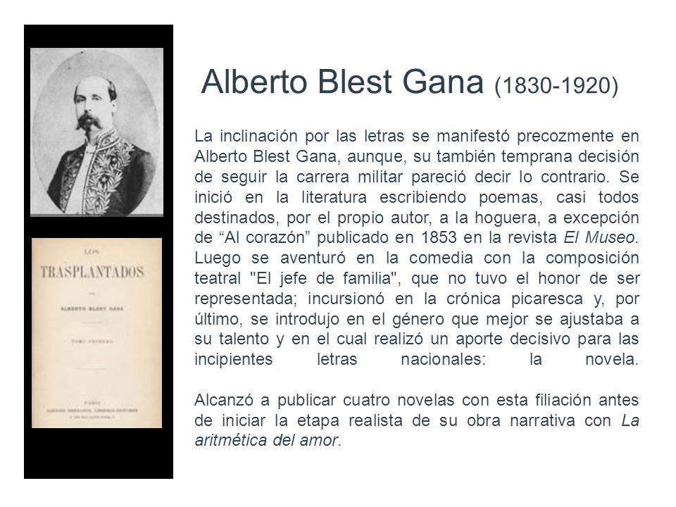Alberto Blest Gana (1830-1920)