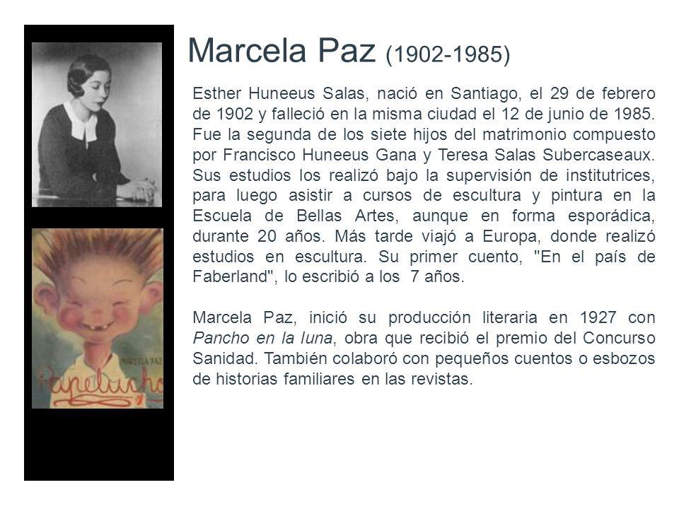Marcela Paz (1902-1985)