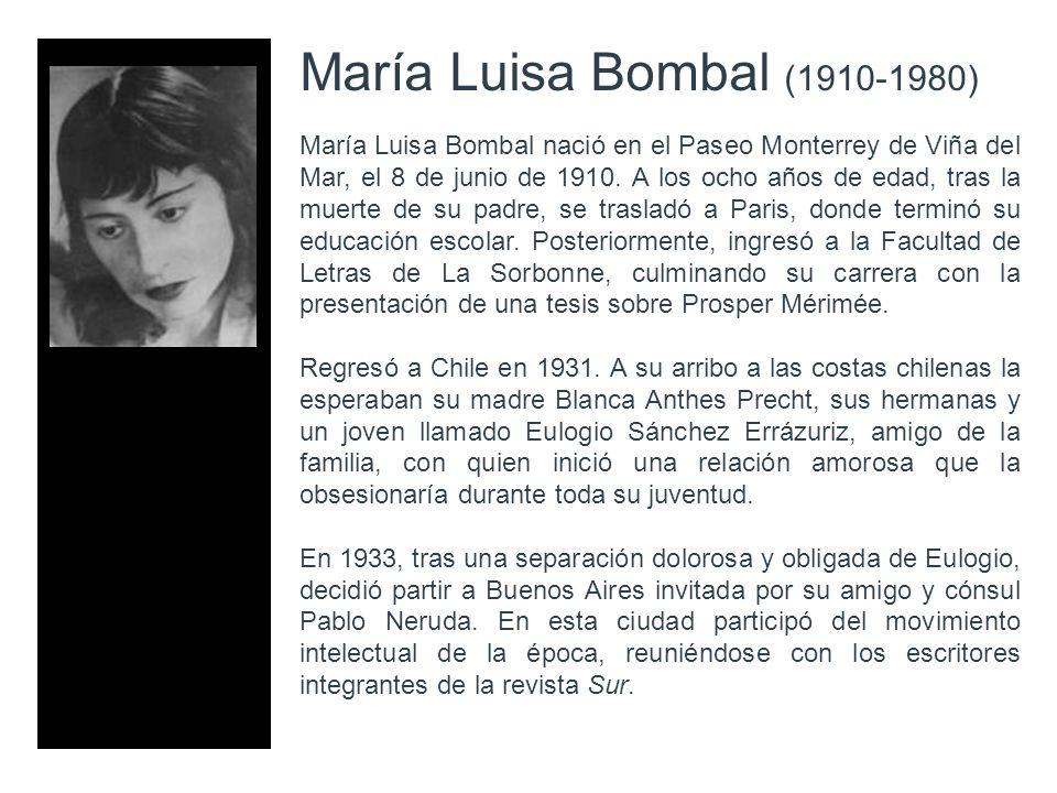 María Luisa Bombal (1910-1980)