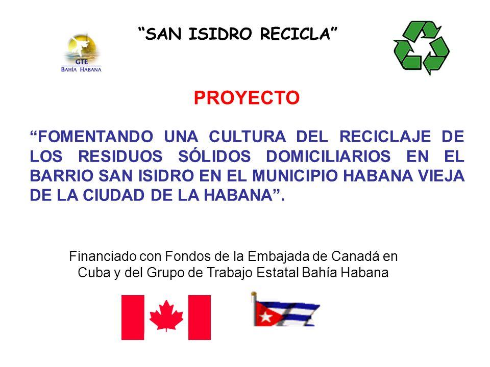 PROYECTO SAN ISIDRO RECICLA