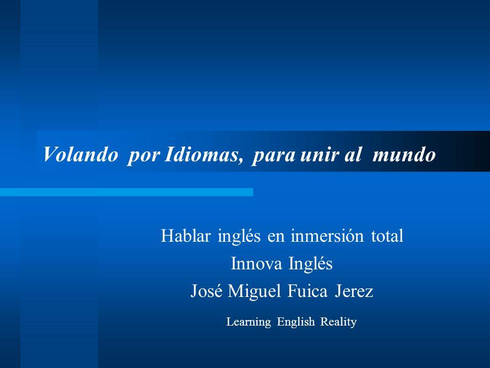 Volando por Idiomas, para unir al mundo