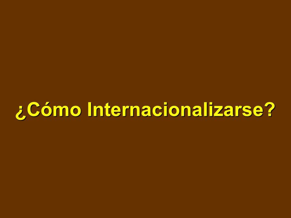 ¿Cómo Internacionalizarse