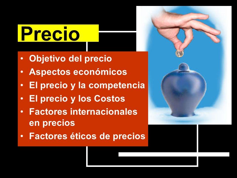 Precio Objetivo del precio Aspectos económicos
