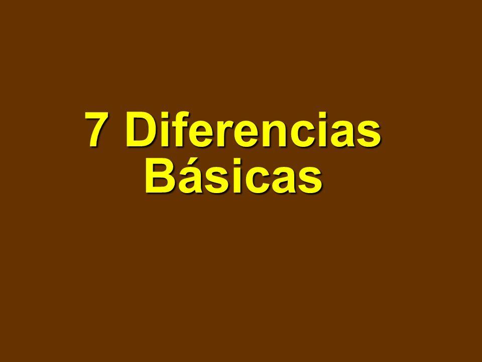 7 Diferencias Básicas