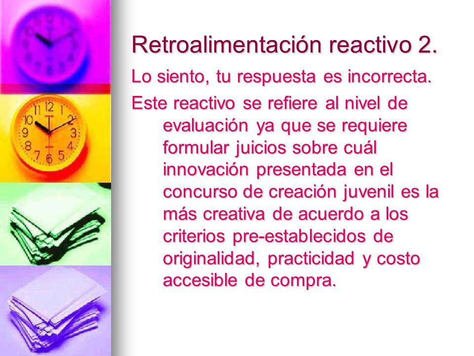 Retroalimentación reactivo 2.