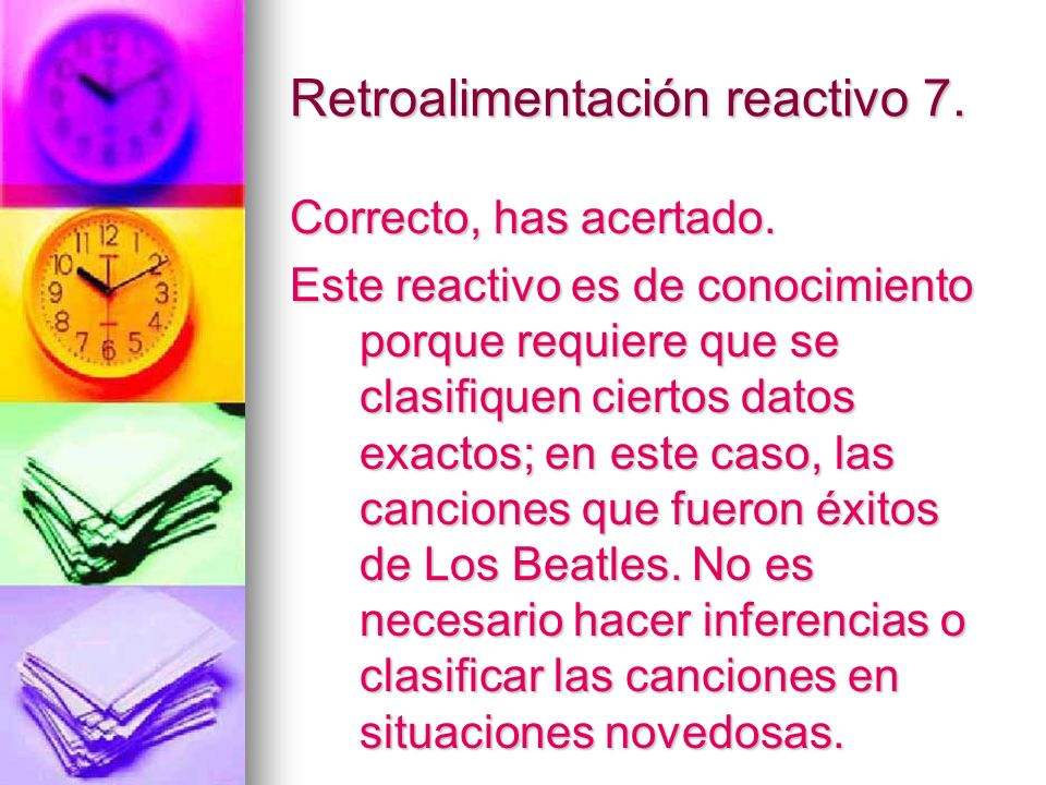 Retroalimentación reactivo 7.