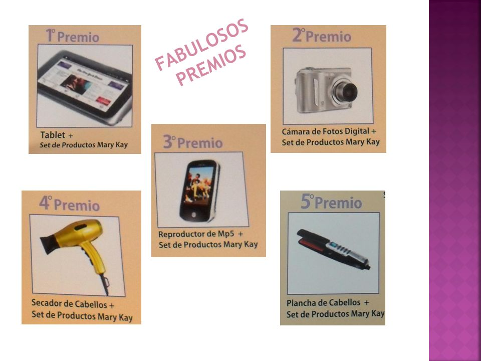 FABULOSOS PREMIOS