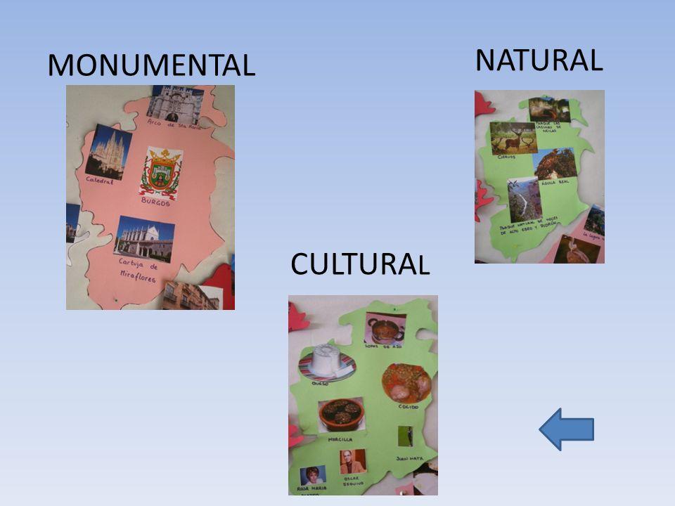NATURAL MONUMENTAL CULTURAL
