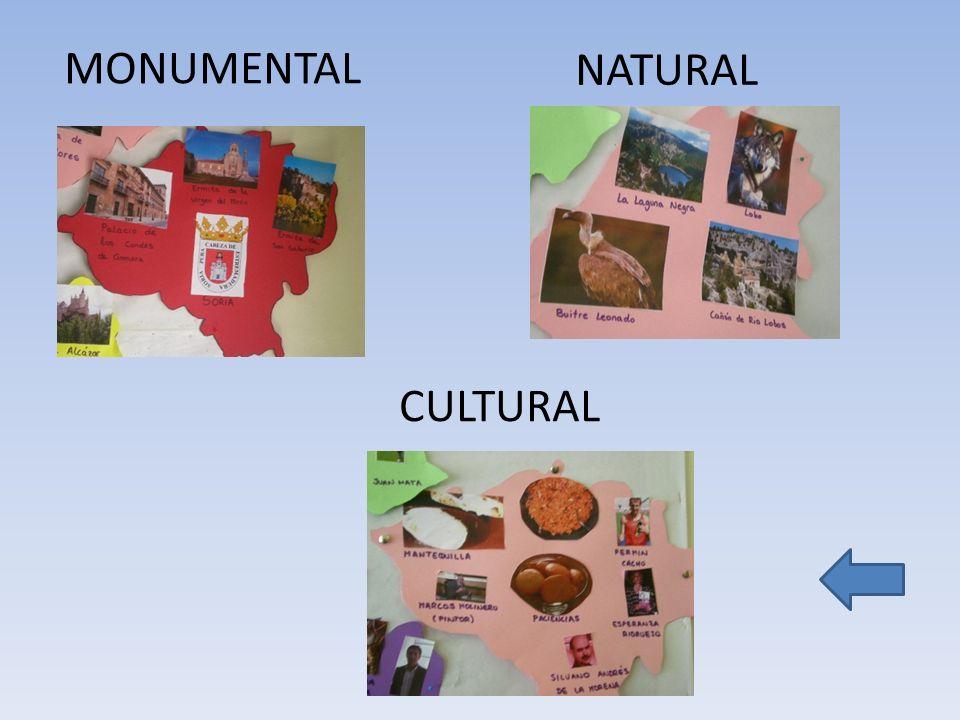MONUMENTAL NATURAL CULTURAL