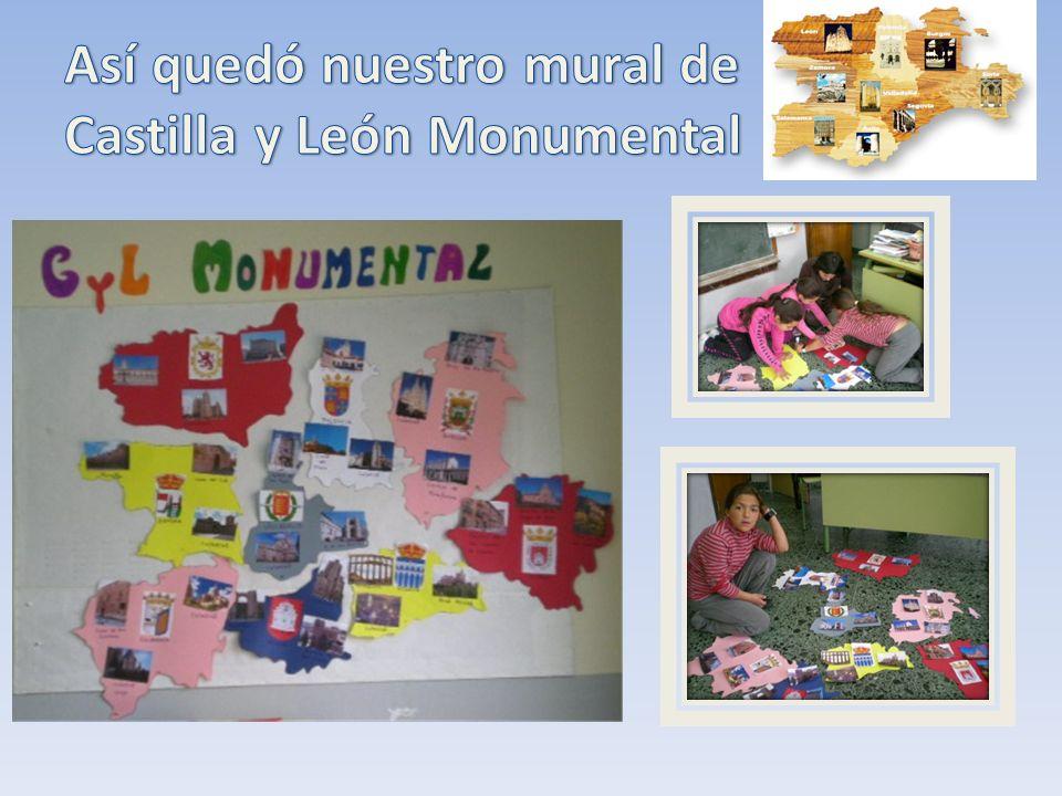 Así quedó nuestro mural de Castilla y León Monumental