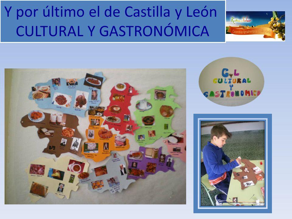 Y por último el de Castilla y León CULTURAL Y GASTRONÓMICA