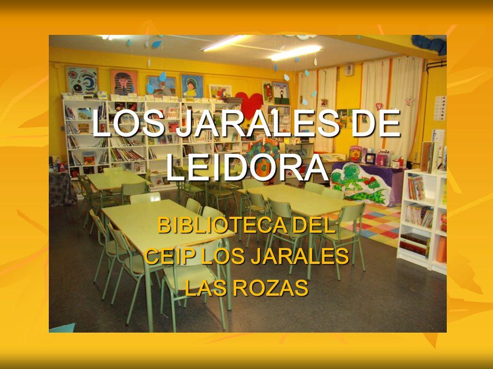BIBLIOTECA DEL CEIP LOS JARALES LAS ROZAS