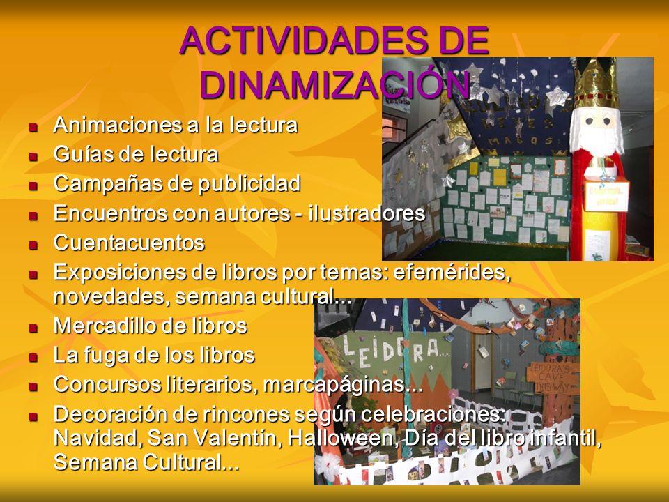 ACTIVIDADES DE DINAMIZACIÓN