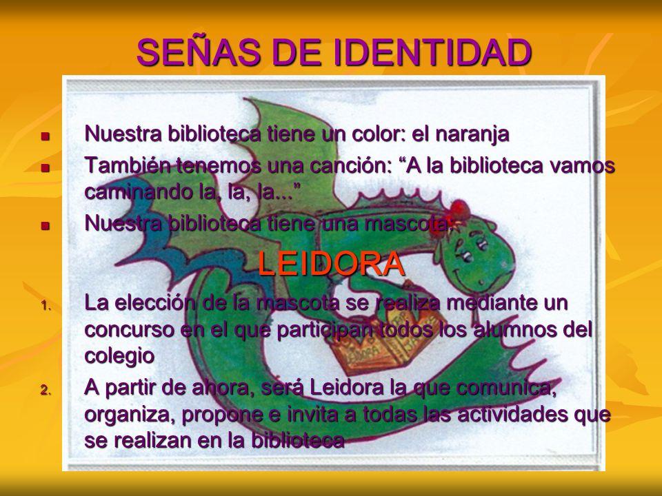 SEÑAS DE IDENTIDAD LEIDORA