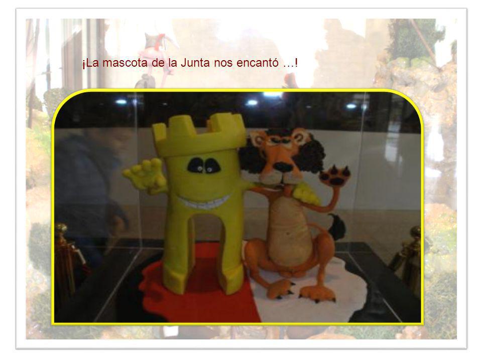 ¡La mascota de la Junta nos encantó …!