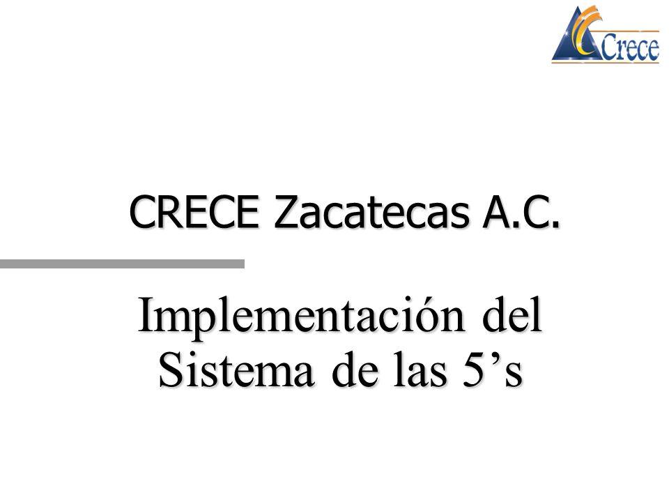 Implementación del Sistema de las 5's