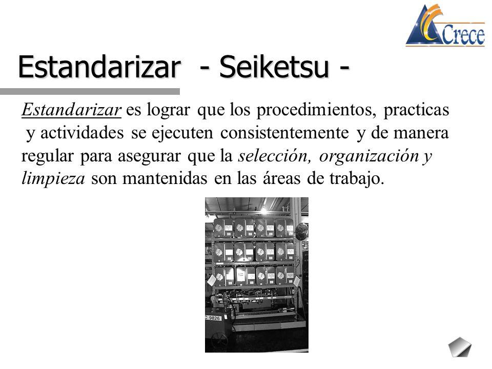 Estandarizar - Seiketsu -