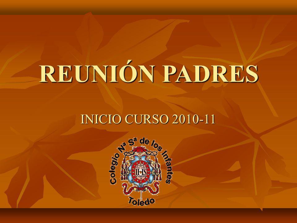 REUNIÓN PADRES INICIO CURSO 2010-11