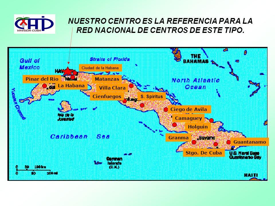 NUESTRO CENTRO ES LA REFERENCIA PARA LA RED NACIONAL DE CENTROS DE ESTE TIPO.