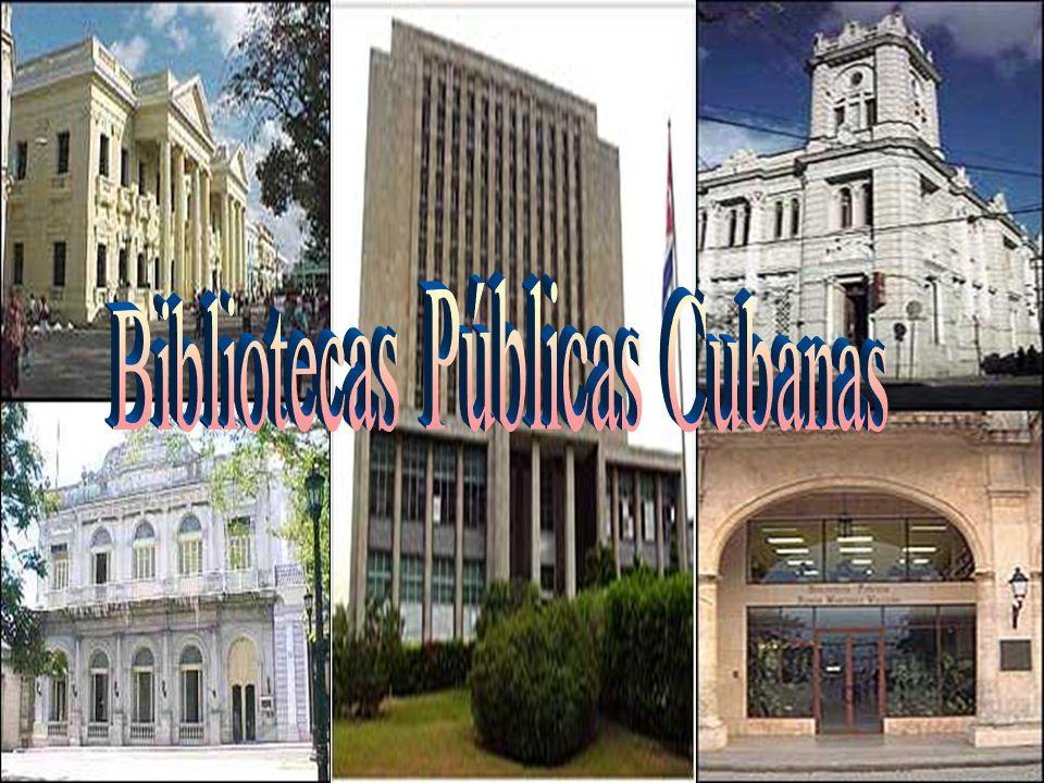 Bibliotecas Públicas Cubanas