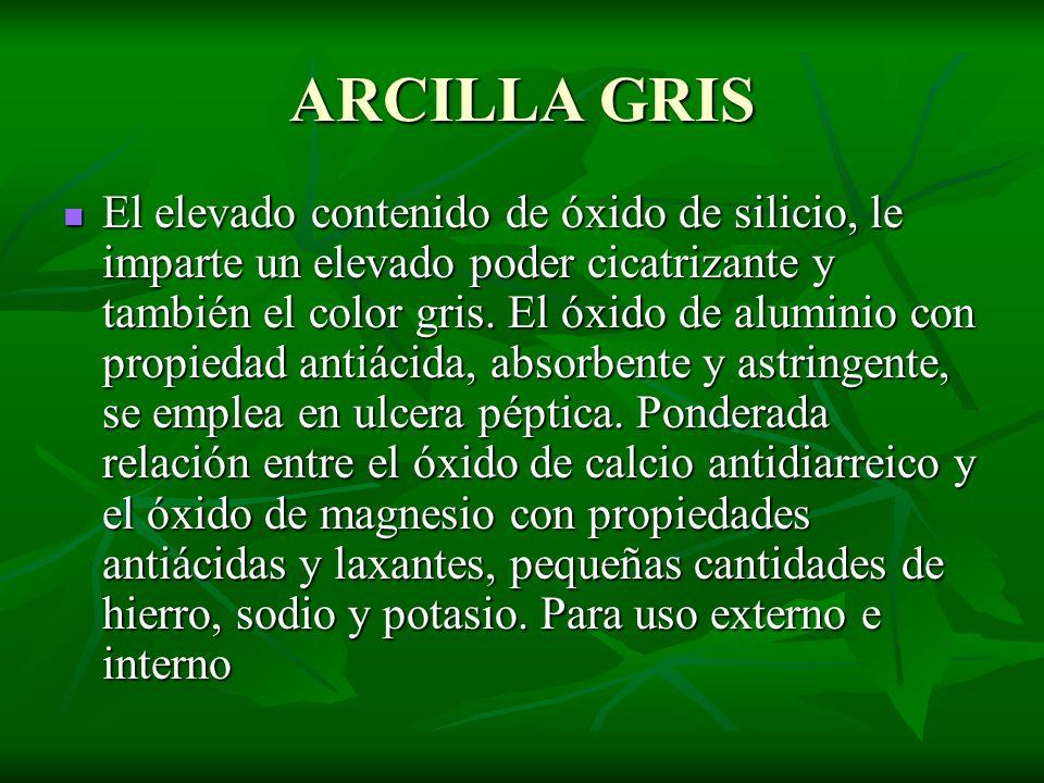 ARCILLA GRIS