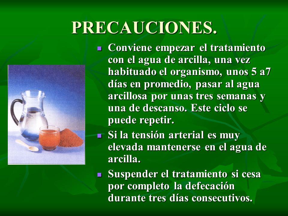 PRECAUCIONES.
