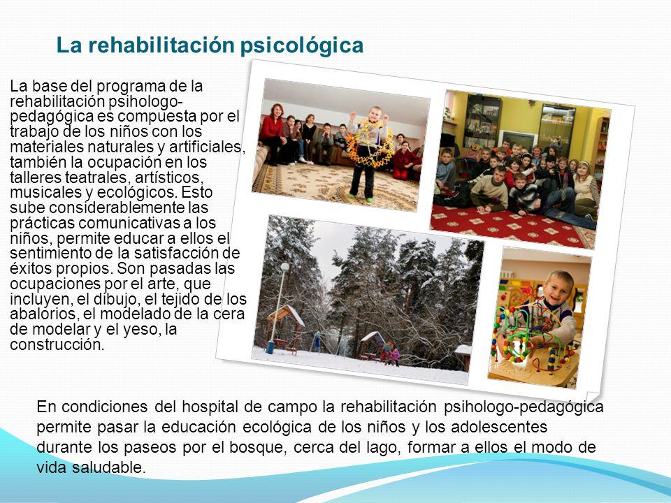La rehabilitación psicológica