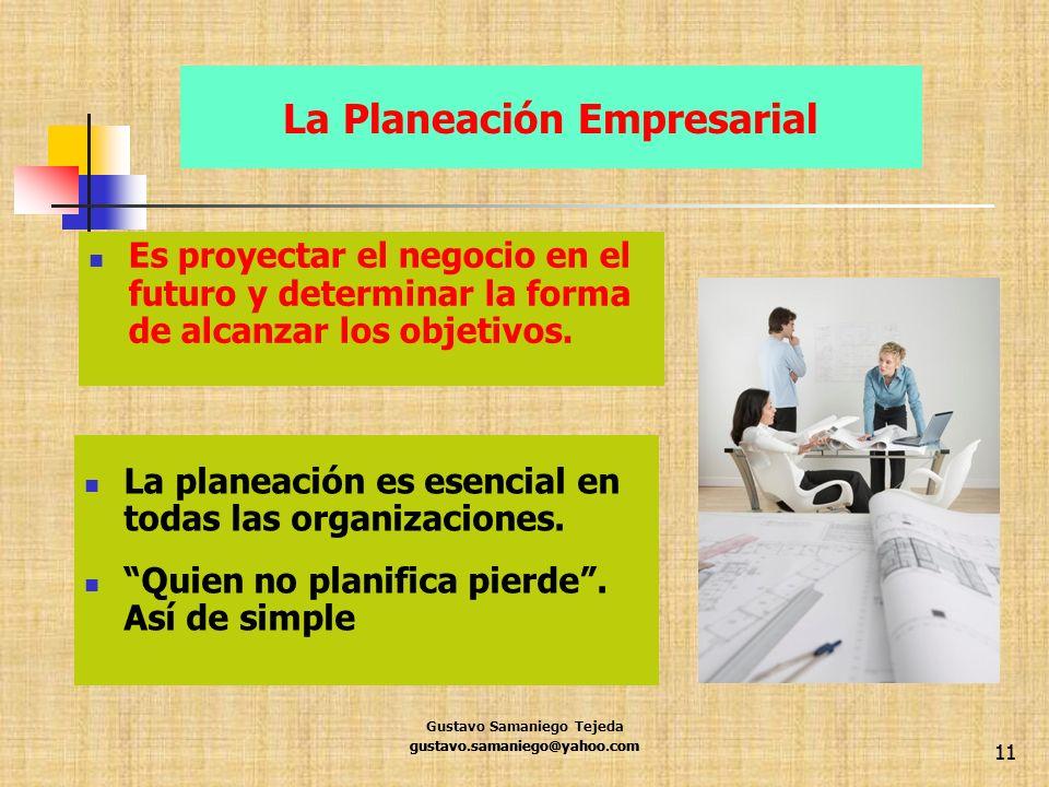 La Planeación Empresarial