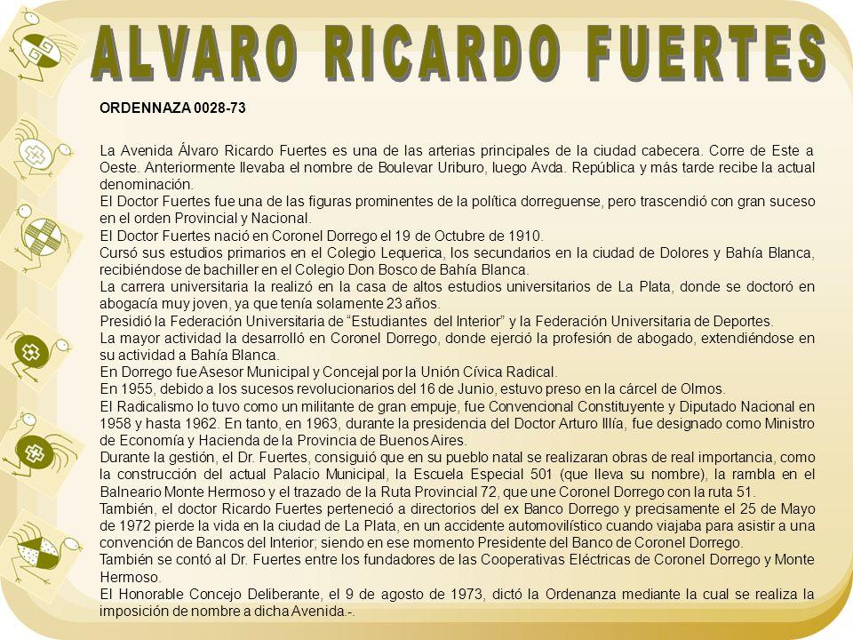 ALVARO RICARDO FUERTES