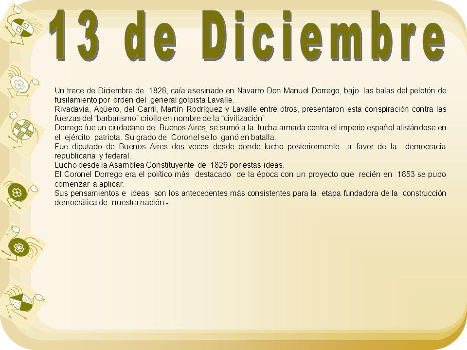 13 de Diciembre