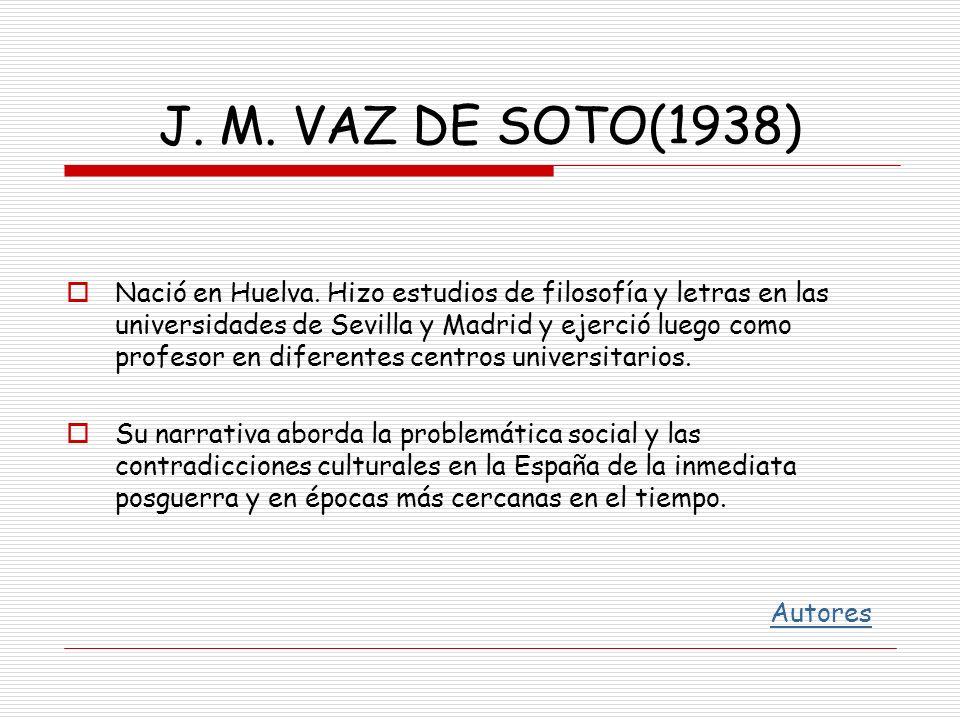 J. M. VAZ DE SOTO(1938)