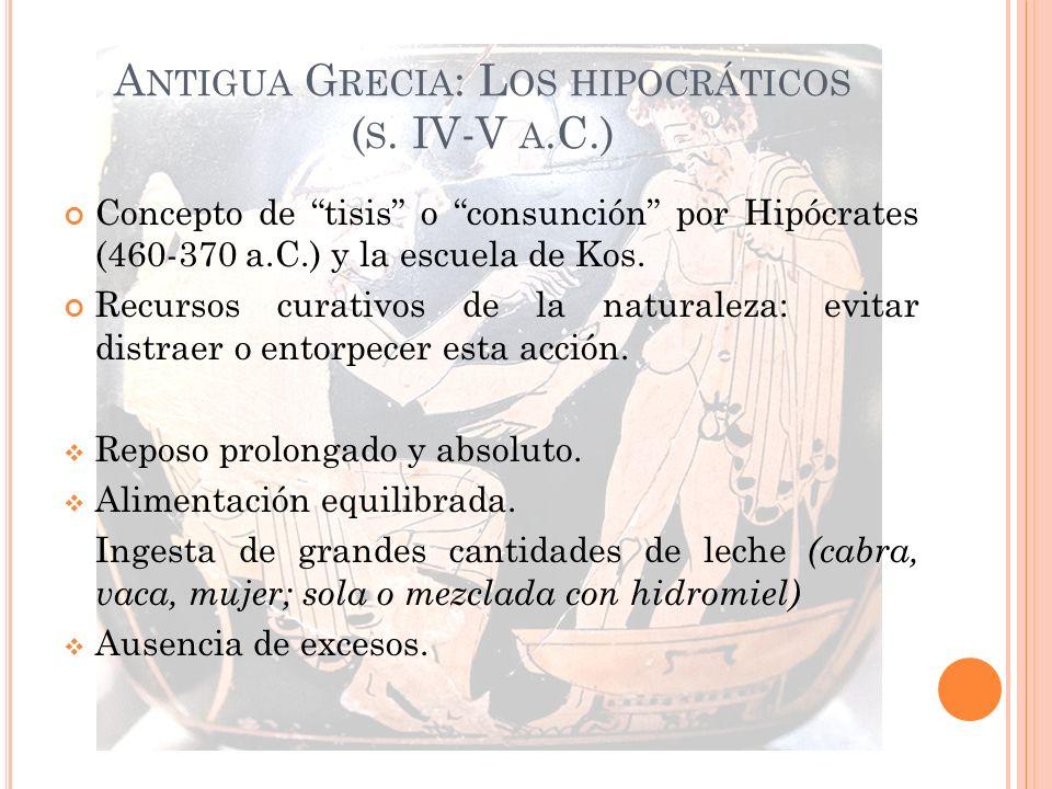 Antigua Grecia: Los hipocráticos (s. IV-V a.C.)