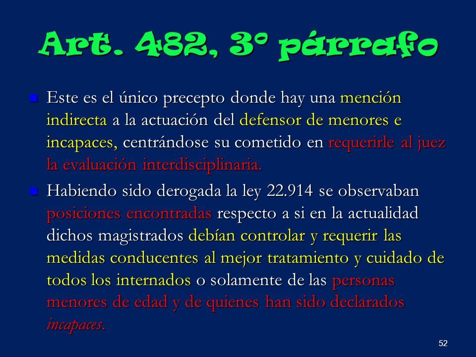 Art. 482, 3º párrafo