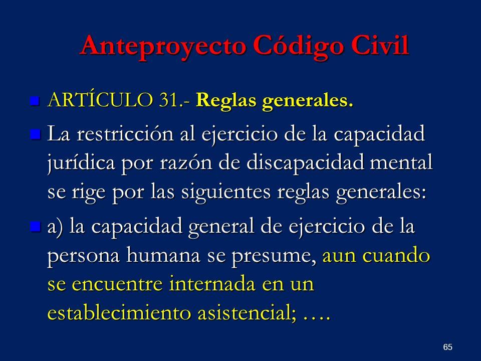 Anteproyecto Código Civil