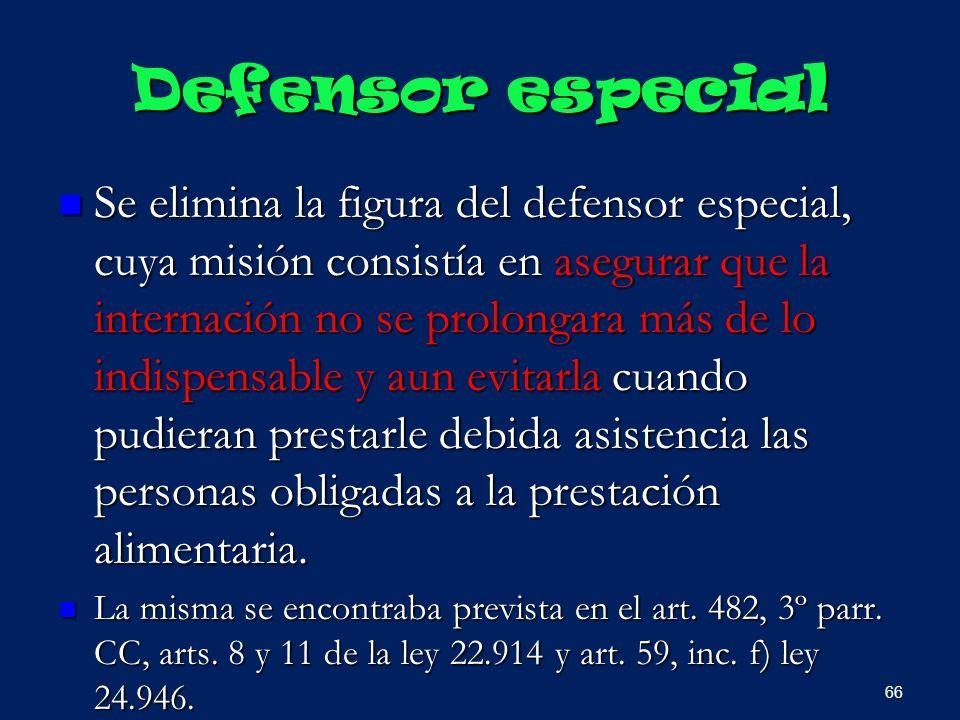 Defensor especial
