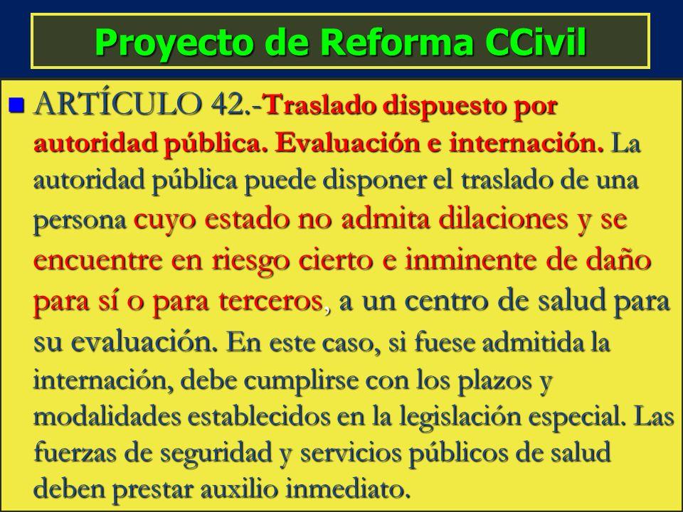 Proyecto de Reforma CCivil