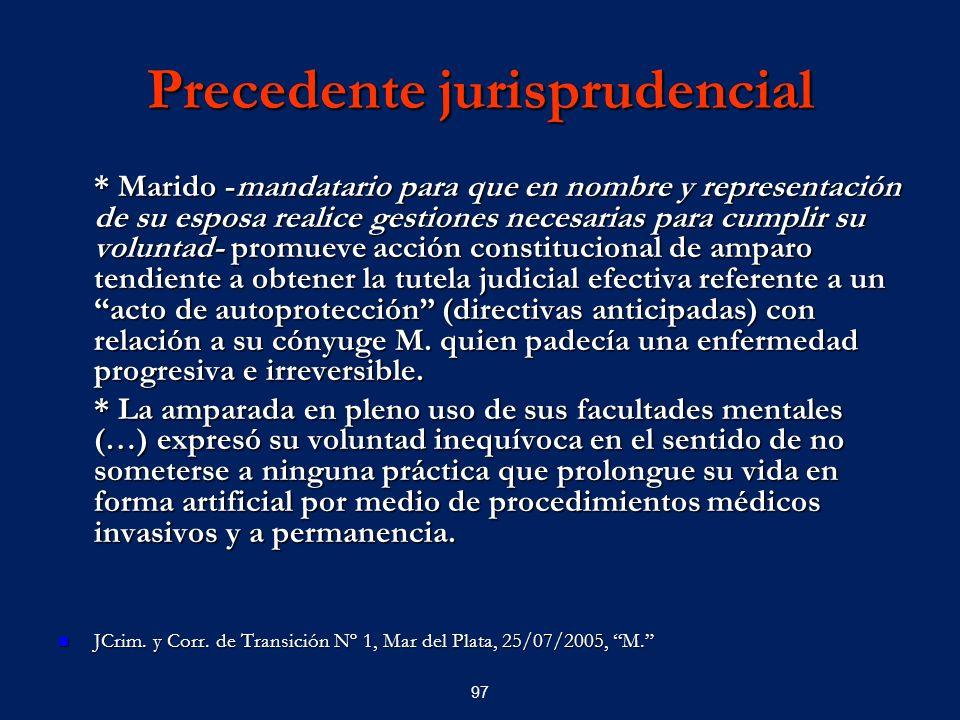 Precedente jurisprudencial