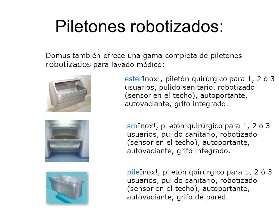 Piletones robotizados: