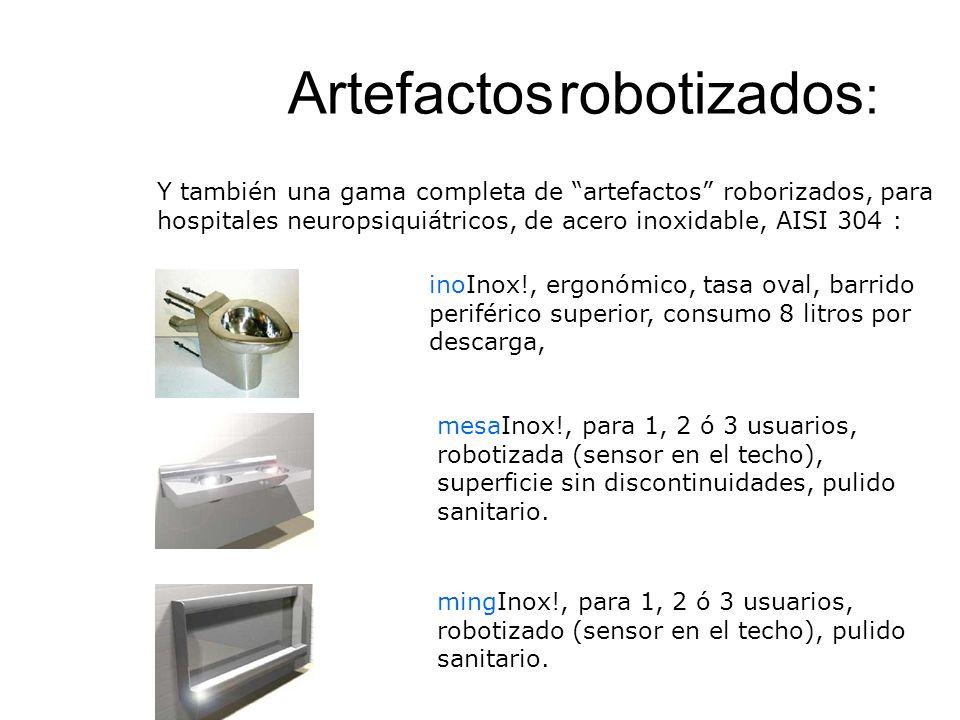 Artefactos robotizados: