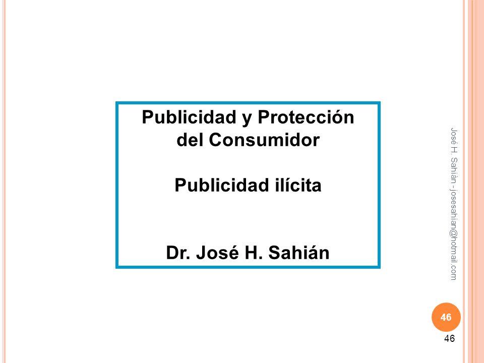 Publicidad y Protección