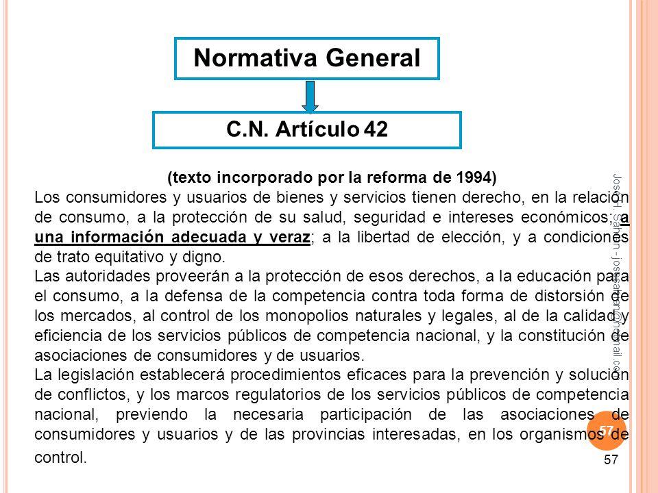 (texto incorporado por la reforma de 1994)