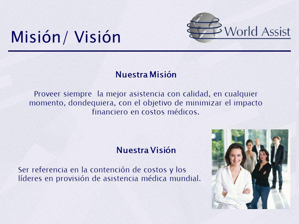 Misión/ Visión Nuestra Misión Nuestra Visión