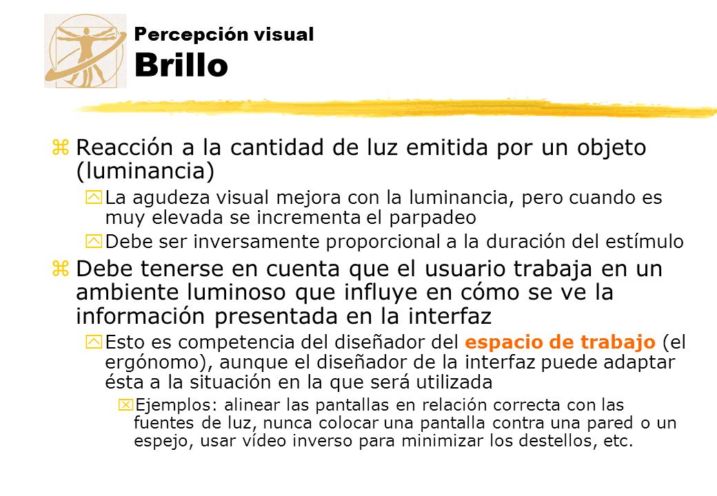 Percepción visual Brillo